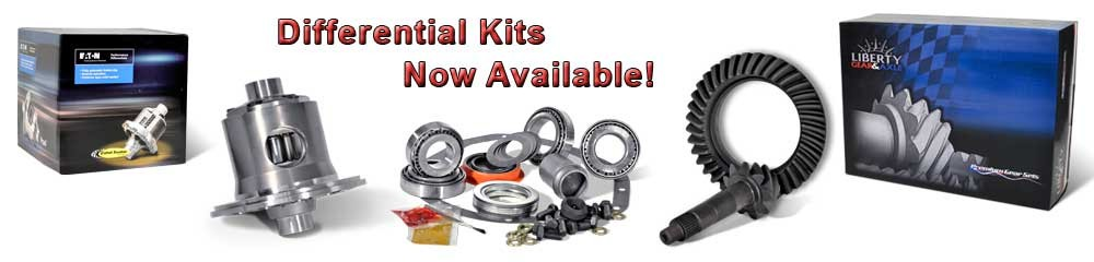 Differential Kits Now Available!